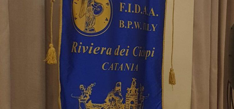 ATHENA all'inaugurazione dell'anno sociale 2019/2020 Sez. FIDAPA Catania – Riviera dei Ciclopi